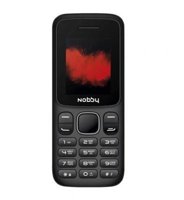 Мобильный телефон Nobby 100 черный телефон