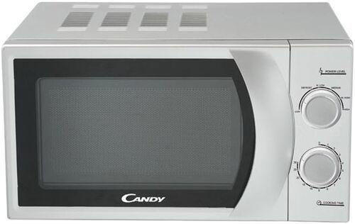 СВЧ Candy CMW2070S 700 Вт серебристый свч candy mic20gdfba 750 вт чёрный