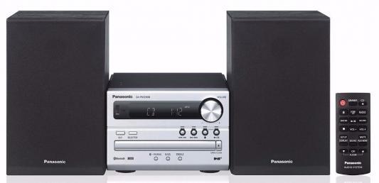 Микросистема Panasonic SC-PM250EE-S серебристый 20Вт/CD/CDRW/FM/USB/BT музыкальный центр panasonic sc pm250ee k