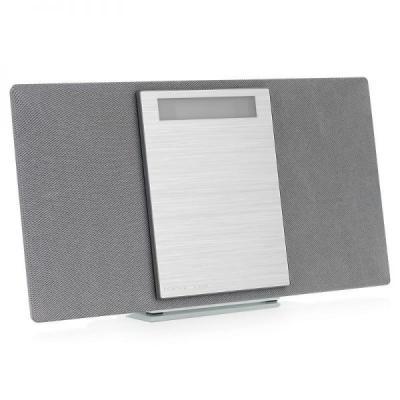 Микросистема Panasonic SC-HC400EE-S серебристый 40Вт/CD/CDRW/FM/USB/BT panasonic cd players sc hc400ee k vinyl cd player portable music center cassette player radio boombox