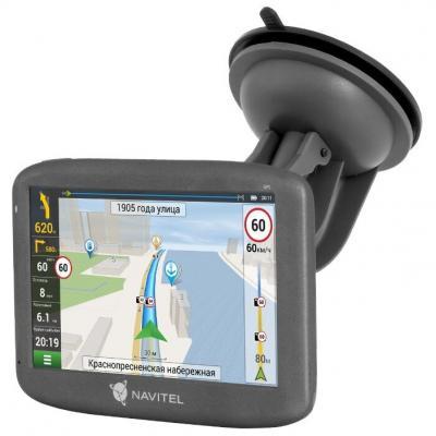 Навигатор Автомобильный GPS Navitel E505 Magnetic 5 800x480 8Gb microSDHC черный Navitel визиком gps навигатор 3d украина