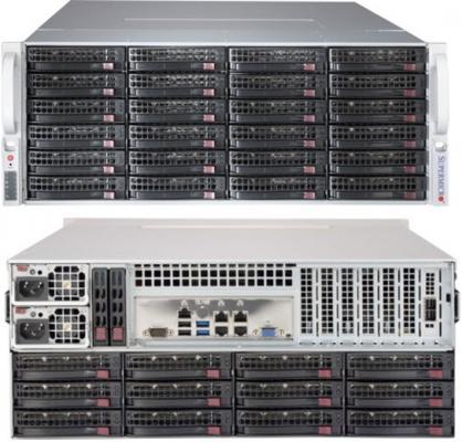 Корпус SuperMicro CSE-847BE1C4-R1K23LPB 2x1200W черный корпус supermicro cse 836ba r920b черный