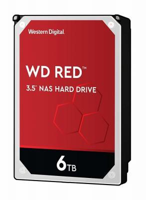Фото - Жесткий диск 3.5 6 Tb 5400rpm 256Mb cache Western Digital WD60EFAX SATA III 6 Gb/s жесткий диск для ноутбука 2 5 2 тb 5400rpm 128mb western digital blue sata iii 6 gb s