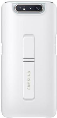 Чехол (клип-кейс) Samsung для Samsung Galaxy A80 Standing Cover белый (EF-PA805CWEGRU) клип кейс oxy fashion fine для samsung galaxy j5 2016 прозрачный