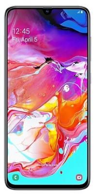 Смартфон Samsung Galaxy A70 128 Гб белый (SM-A705FZWMSER) смартфон samsung galaxy s10 128 гб перламутровый sm g973fzwdser
