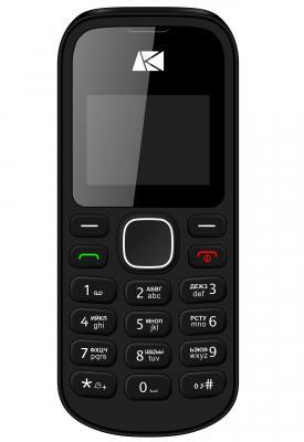 Мобильный телефон ARK Benefit U141 32Mb черный моноблок 2Sim 1.44 68x98 GSM900/1800 MP3 FM microSD мобильный телефон soyes h1 1 3 mp3 fm bluetooth sms