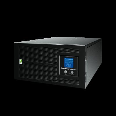 UPS Line-Interactive CyberPower PR6000ELCDRTXL5U 6000VA/4500W USB/RS-232/Dry/EPO/SNMPslot/RJ11/45/ВБМ (8 IEC С13, 2 IEC C19, 1 клеммная колодка) cyberpower ибп line interactive pr1000elcdrtxl2u usb rs 232 dry epo snmpslot rj11 45 вбм page 3