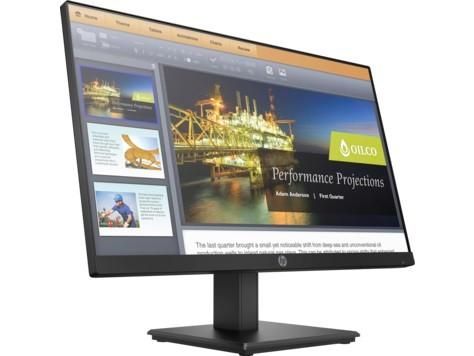 "Монитор 22"" HP ProDisplay P224 черный VA 1920x1080 250 cd/m^2 5 ms HDMI VGA DisplayPort"