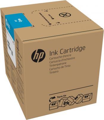 HP 872 3L Cyan Latex Ink Crtg картридж струйный hp c9391ae n 88xl cyan with vivera ink