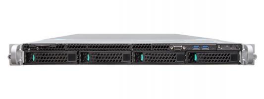 Intel® Server System R1304WTTGSR 1U, 2 x Socket 2011-R3, Xeon E5-2600 v3/v4, Intel C612, 24xDDR4 ECC REG DIMMs 333, 1600, 1866, 2133 MHz, 2 х 10-Gbe, 4xHS HDD 3,5 SATA/SAS, 2xPCI-E x16+IOM Conn+RM Conn, 1x750 Wt (1+0), no rails, no RMM цена
