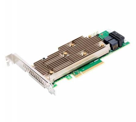 MegaRAID SAS 9460-8i SGL (8-Port Int., 12Gb/s SAS/SATA/ PCIe (NVMe), PCIe 3.1) контроллер sas sata lsi megaraid sas9300 8i pci e 3 0 x8 lp sgl lsi00344
