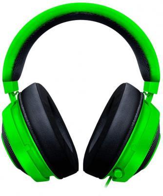 лучшая цена Игровая гарнитура проводная Razer Kraken Multi Platform зеленый