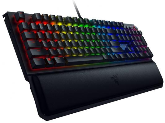 Клавиатура проводная Razer BLACKWIDOW ELITE (Razer Yellow Switch) USB черный (RZ03-02622700-R3R1)