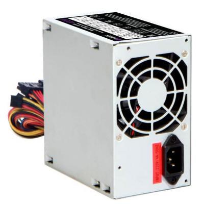 Блок питания HIPER HPT-400 (ATX 2.31, 400W, Passive PFC, 80mm fan, power cord) OEM цена и фото