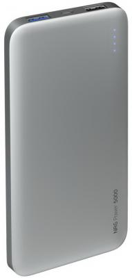 Фото - Внешний аккумулятор Deppa NRG Power 5000 mAh, 2.1A, 2xUSB, графит аккумулятор