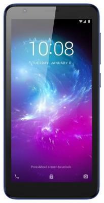 Смартфон ZTE Blade A3 16 Гб синий смартфон zte blade l3 gray