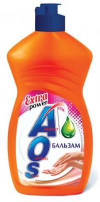 "Средство для мытья посуды 450 мл, AOS ""Бальзам"", 1110-3"