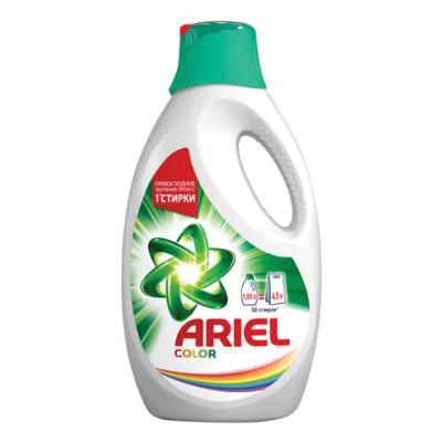 Средство для стирки жидкое автомат 1,95 л, ARIEL (Ариэль) Color, гель, AS-81629912 средство для стирки жидкое автомат 2 6 л ariel ариэль color гель концентрат 1001932