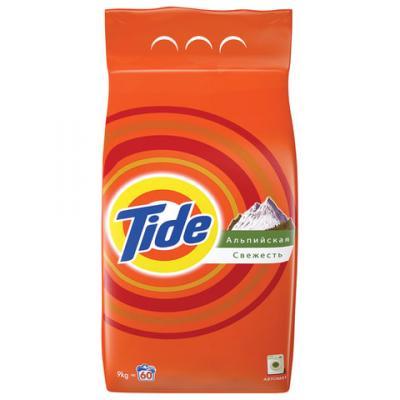 Стиральный порошок-автомат 9 кг, TIDE (Тайд) Альпийская свежесть тайд порошок стиральный автомат touch 2в1 tide
