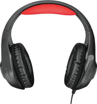 Игровая гарнитура проводная TRUST GXT 313 Nero Illuminated Gaming Headset черный 21601