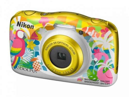 Фото - Фотоаппарат Nikon Coolpix W150 Resort Backpack KIT <13.2Mp, 3x zoom, 2.7, SDXC, Влагозащитная, Ударопрочная> (водонепроницаемый 10 метров) фотоаппарат