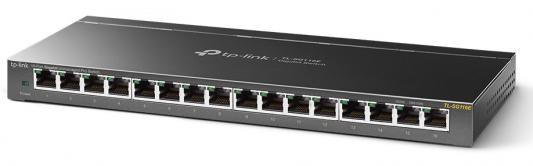 16-Port Gigabit Easy Smart Switch, 16 Gigabit RJ45 Ports, Desktop Steel Case, MTU/Port/Tag-based VLAN, QoS, IGMP Snooping, Web/Utility Management