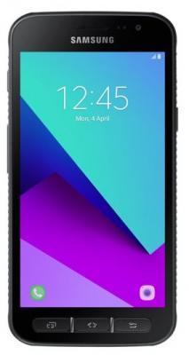 Смартфон Samsung XCover 4 (5/IP68/MIL-STD 810G/1280x720/2Gb/16Gb/1Sim/microSD 512Gb/4G/NFC/Android, съемная батарея 2800mAh) смартфон samsung galaxy a5 2016 4g 16gb white