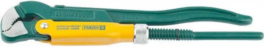 Ключ KRAFTOOL трубный, тип PANZER-S, цельнокованный, 250мм/1/2 [2733-05_z01] ключ kraftool трубный рычажный тип panzer v изогнутые губки цельнокованный cr v сталь 1 2 250мм [2735 05 z01]