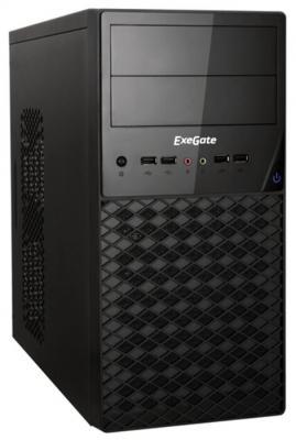 Корпус microATX Exegate QA-413U 600 Вт чёрный (EX278430RUS) корпус minitower exegate qa 413u 350w black