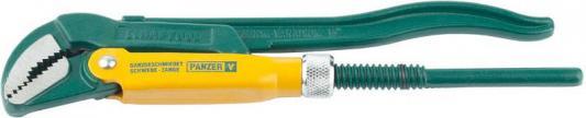 Ключ KRAFTOOL трубный, рычажный, тип PANZER-V, изогнутые губки, цельнокованный, Cr-V сталь, 1/2/250мм [2735-05_z01] ключ kraftool трубный рычажный тип panzer v изогнутые губки цельнокованный cr v сталь 1 2 250мм [2735 05 z01]