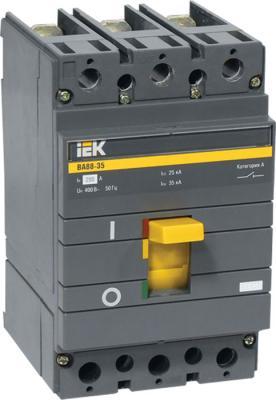 Автоматический выключатель IEK ВА88-35 3Р 200А 35кА (SVA30-3-0200-R) iek sva20 3 0160 r авт выкл ва88 33 3р 160а 35ка iek
