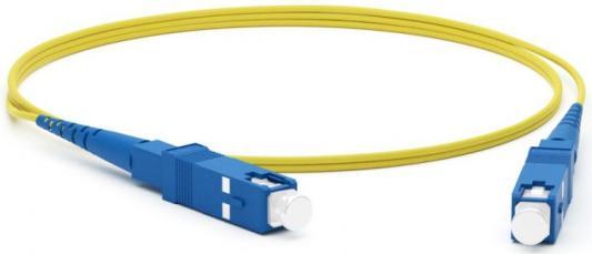 Hyperline FC-S2-9-SC/UR-SC/UR-H-3M-LSZH-YL Патч-корд волоконно-оптический (шнур) SM 9/125 (OS2), SC/UPC-SC/UPC, 2.0 мм, simplex, LSZH, 3 м цена и фото