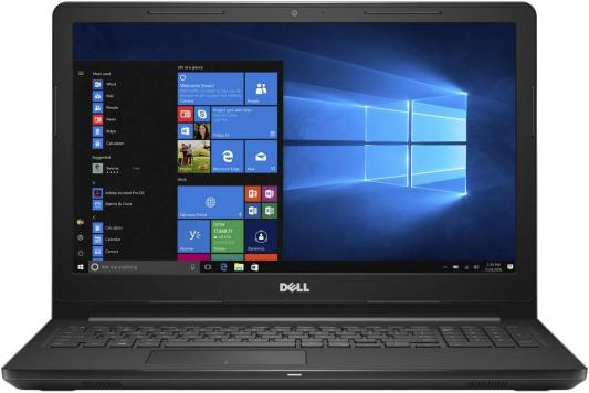 Ноутбук Dell Inspiron 3565 A9 9425/4Gb/500Gb/DVD-RW/AMD Radeon R5/15.6/HD (1366x768)/Linux/black/WiFi/BT/Cam цена
