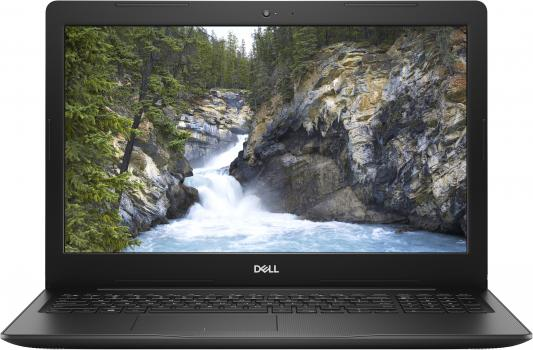"Ноутбук Dell Vostro 3581 Core i3 7020U/4Gb/1Tb/DVD-RW/Intel HD Graphics 620/15.6""/FHD (1920x1080)/Windows 10 Home/black/WiFi/BT/Cam цена в Москве и Питере"