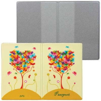Обложка для паспорта Твой стиль - Дерево, вертикальная, кожзаменитель, ДПС, 2203.Т6