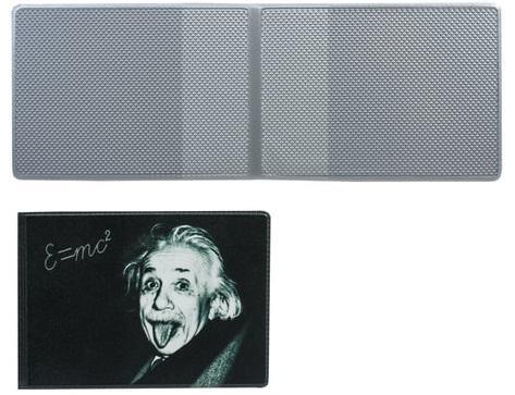 """Обложка для пластиковых карт ДПС """"Эйнштейн"""" ассорти"""