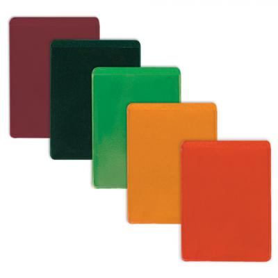 Обложка-карман для проездных документов, ПВХ, ассорти, 69х92 мм, ДПС, 1351.300