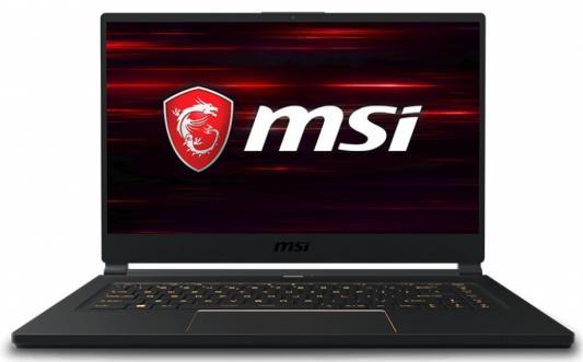 "Ноутбук MSI GS65 Stealth 9SE-644RU Core i7 9750H/16Gb/SSD1Tb/nVidia GeForce RTX 2060 6Gb/15.6""/FHD (1920x1080)/Windows 10/black/WiFi/BT/Cam все цены"