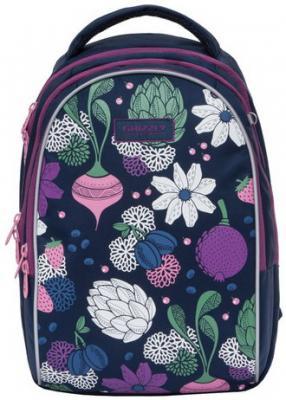Рюкзак GRIZZLY школьный, анатомическая спинка, для девочек, Артишок, 28х41х20 см, RG-967-2/1 рюкзак grizzly rg 867 2 2 fuchsia