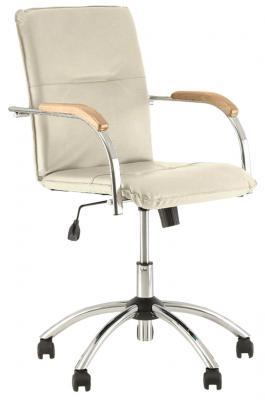 Кресло офисное NOWY STYL Samba GTP бежевый 531276 офисный стул nowy styl samba s box 2 v 18