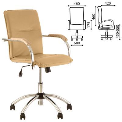 Кресло офисное NOWY STYL Samba GTP 531277 песочный офисный стул nowy styl samba s box 2 v 18