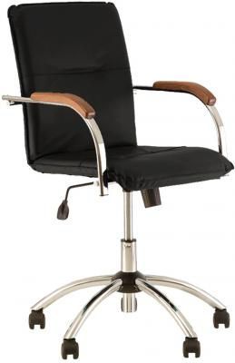 Кресло NOWY STYL Samba GTP чёрный офисный стул nowy styl samba s box 2 v 18