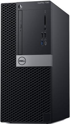 ПК Dell Optiplex 7060 MT i5 8500 (3)/8Gb/1Tb 7.2k/RX 550 4Gb/DVDRW/Linux Ubuntu/GbitEth/200W/клавиатура/мышь/черный/серебристый цены