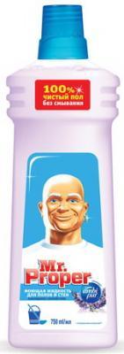 Средство для мытья пола и стен 750 мл, MR.PROPER (Мистер Пропер) Лавандовое спокойствие meine liebe универсальное средство для мытья пола антибактериальный эффект 750 мл
