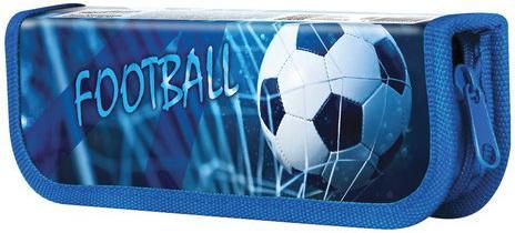 Пенал ЮНЛАНДИЯ, 1 отделение, ламинированный картон, 19х7 см, Футбол, 228247 недорого