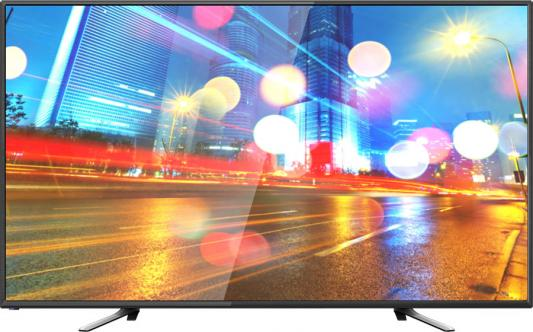 "Телевизор LED Hartens 55"" HTV-55F01-TS2C/A7 черный/FULL HD/60Hz/DVB-T/DVB-T2/DVB-C/USB/WiFi/Smart TV (RUS) цена"