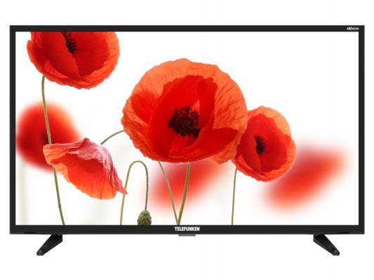 Телевизор Telefunken TF-LED32S23T2 черный цена и фото
