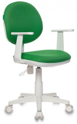 Кресло детское Бюрократ CH-W356/GREEN зеленый V398-42 (пластик белый) кресло buro ch 213axn green зеленый 10 24