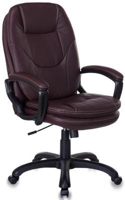 Кресло руководителя Бюрократ CH-868LT/BROWN коричневый искусственная кожа (пластик черный) кресло бюрократ ch 868axsn brown коричневый