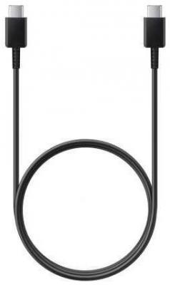 Фото - Кабель Type-C 1м Samsung EP-DA705BBRGRU круглый черный магнитный свет зарядное устройство нейлон плетеные micro usb тип c магнитный кабель для samsung iphone